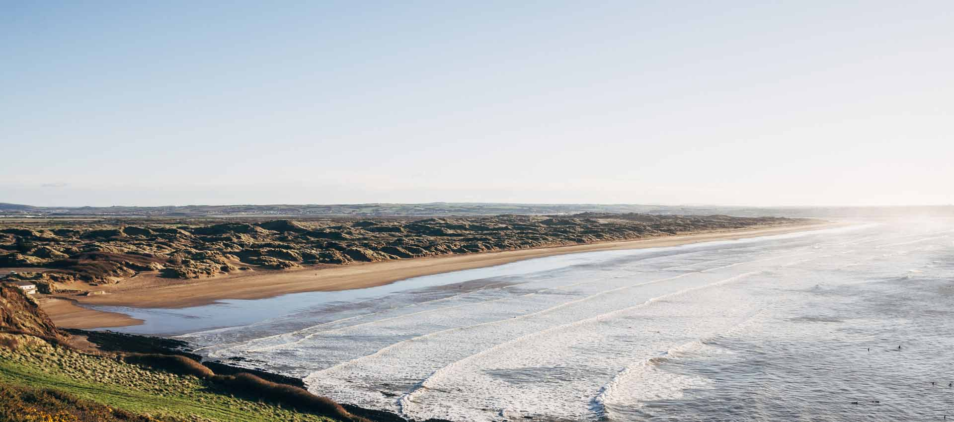 Lobb Fields, Saunton Sands beach