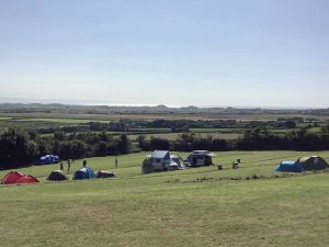 Lobb Fields Caravan and Camping Park green field