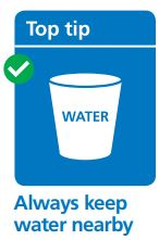 Always keep water nearby | Fire Safety | Lobb Fields caravan And Camping Park