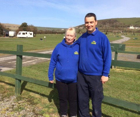 Wardens - Kevin and Jo | Lobb Fields Caravan and Camping Park