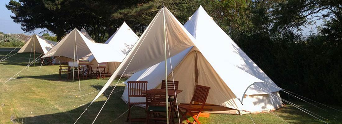 Glamping | lobb Fields Camping and Caravan Park | North Devon