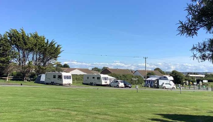 Lobb Fields campsite