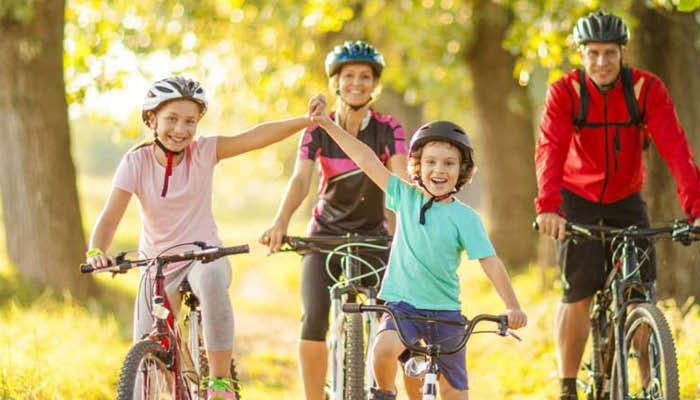 Things to do at Lobb Fields, cycling